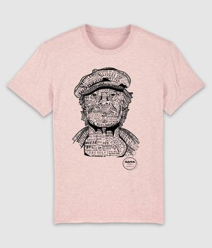GAFFA HEROES - T-SHIRT, KIM (HEATHER PINK)