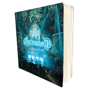 ENTOMBED - CLANDESTINE - LIVE (CONCERT PROGRAM BUNDLE)