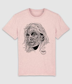 GAFFA HEROES - T-SHIRT, KURT (HEATHER PINK)