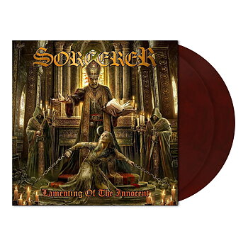 Sorcerer – Lamenting of the Innocent  - 2 LP Maroon marbled vinyl (Exlusive colour sold only by the band)