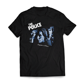 THE POLICE - T-SHIRT, REGATTA DE BLANC