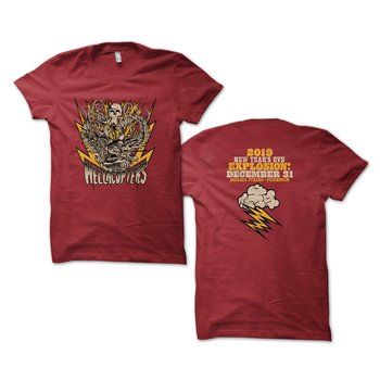 HELLACOPTERS - T-SHIRT, 2019 NEW YEARS EVE EXPLOSION