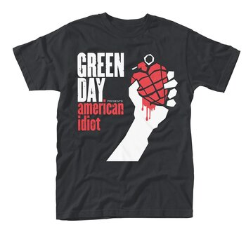 GREEN DAY - T-SHIRT, AMERICAN IDIOT
