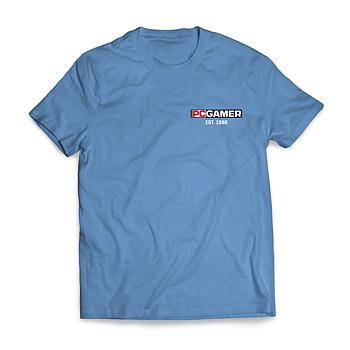 PC Gamer Est. 1996 – T-shirt herr (Blå)