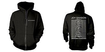 JOY DIVISION - ZIP-HOOD, UNKNOWN PLEASURES