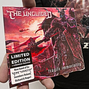 THE UNGUIDED - FRAGILE IMMORTALITY - LTD DIGIPAK CD