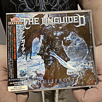 THE UNGUIDED - HELL FROST - LTD JAPAN DIGIPAK CD