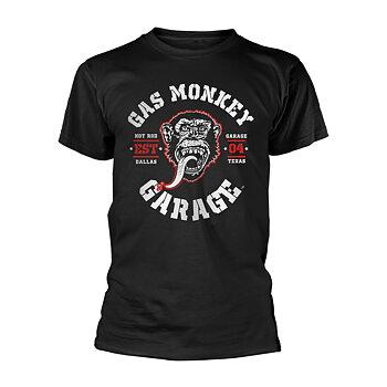 GAS MONKEY GARAGE - T-SHIRT, RED HOT