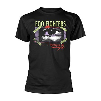 FOO FIGHTERS - T-SHIRT, MEDICINE AT MIDNIGHT TAPED