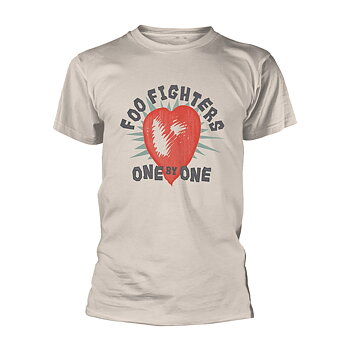 FOO FIGHTERS - T-SHIRT, ONE BY ONE