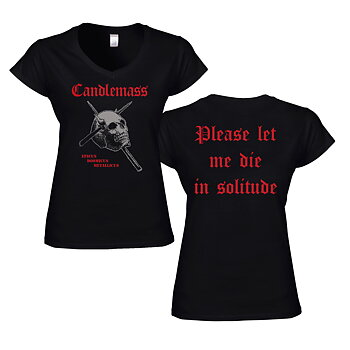 Candlemass - Girlie V-Neck, Epicus Doomicus Metallicus