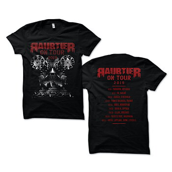 RAUBTIER - T-SHIRT, ON TOUR 2019