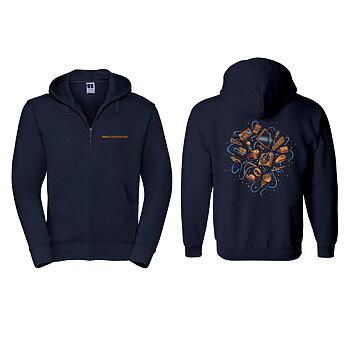 SweClockers Hardware Dreams – Zip-hoodie