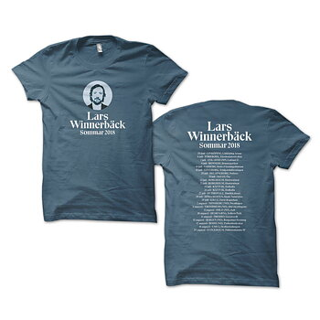 LARS WINNERBÄCK - T-SHIRT, TURNÉ 2018