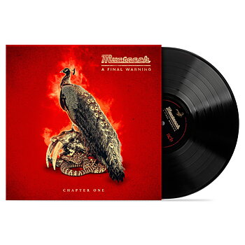 "MUSTASCH - A FINAL WARNING - CHAPTER ONE (10"" BLACK VINYL)"