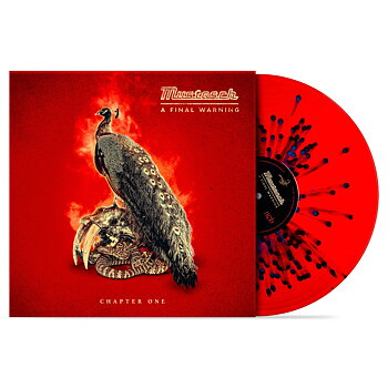 "MUSTASCH - A FINAL WARNING - CHAPTER ONE (10"" TRANSP/RED/BLUE VINYL)"