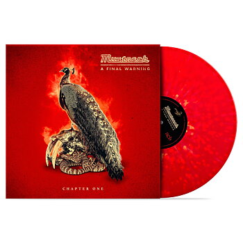 "MUSTASCH - A FINAL WARNING - CHAPTER ONE (10"" RED/YELLOW SPLATTER VINYL)"