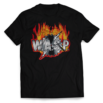 W.A.S.P. - T-SHIRT, SAWBLADE LOGO