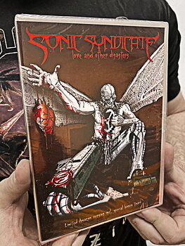 SONIC SYNDICATE - LOVE AND OTHER DISASTERS - LTD CD + DVD
