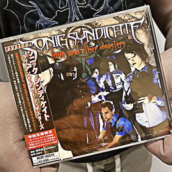 SONIC SYNDICATE - LOVE AND OTHER DISASTERS - LTD JAPAN DIGIPAK CD + DVD