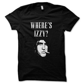 WHERE'S IZZY? - T-SHIRT
