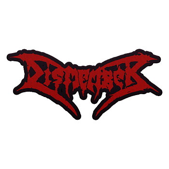 DISMEMBER - PATCH, LOGO (CUT OUT)