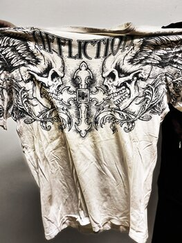 AFFLICTION - T-SHIRT, ENCLAVE 2007 - SMALL
