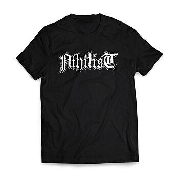NIHILIST - T-SHIRT, LOGO