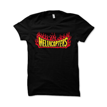 HELLACOPTERS - KIDS T-SHIRT, FLAMES LOGO