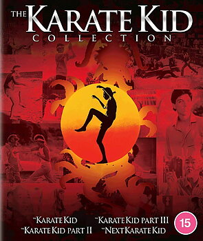 Karate Kid - Collection (4-disc) (ej svensk text Next Karate Kid) (Blu-ray)