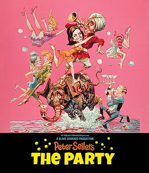 The Party (ej svensk text) (Blu-ray)