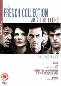French Collection Volume 2 - Thrillers (3-disc) (ej svensk text)