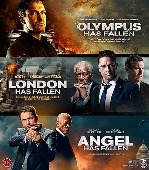 Olympus/London/Angel Has Fallen (Blu-ray)