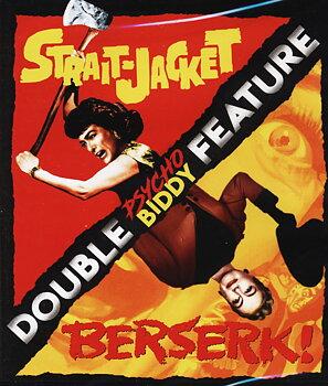 Strait-Jacket / Berserk! (ej svensk text) (Blu-ray)