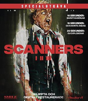 Scanners 1-3 (Blu-ray)