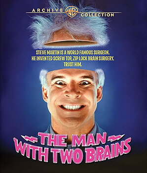 Man With Two Brains (ej svensk text) (Blu-ray)