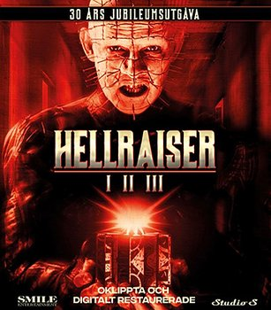Hellraiser 1-3 (Blu-ray)