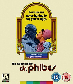 Abominable Dr. Phibes (ej svensk text) (Blu-ray)