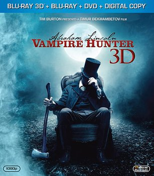 Abraham Lincoln - Vampire Hunter (Real 3D + Blu-ray + DVD) (Begagnad)