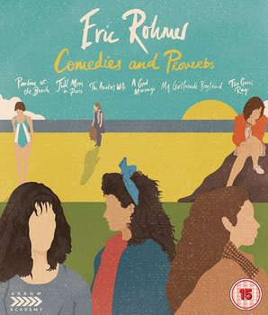 Eric Rohmer - Comedies And Proverbs (ej svensk text) (6-disc) (Blu-ray)