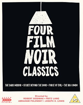 Four Film Noir Classics (ej svensk text) (Blu-ray)
