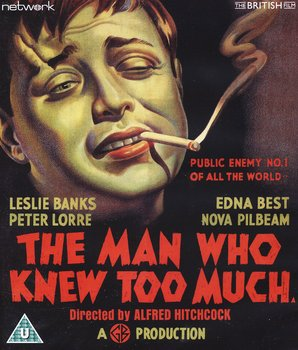 The Man Who Knew Too Much (ej svensk text) (Blu-ray)