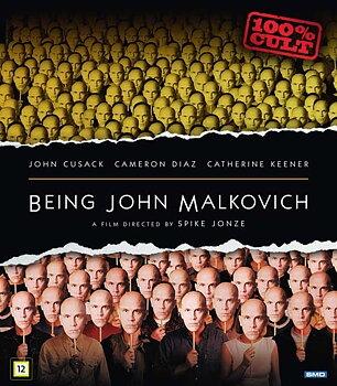 I Huvudet På John Malkovich (Blu-ray)