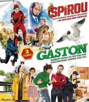 Gaston / Spirou (Blu-ray)