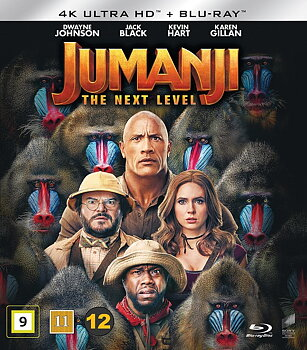 Jumanji: The Next Level (4K Ultra HD Blu-ray + Blu-ray)
