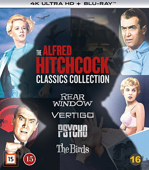 Alfred Hitchcock Classics Collection (4K Ultra HD Blu-ray + Blu-ray)