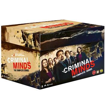 Criminal Minds - Säsong 1-15 (säsong 15 ej svensk text)