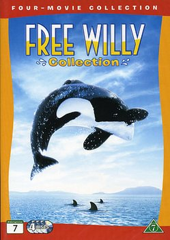 Free Willy 1-4 Collection (4-disc)