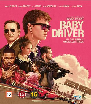 Baby Driver (Blu-ray) (Begagnad)