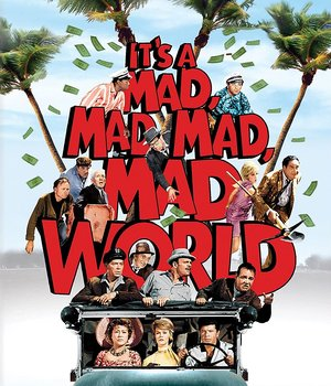 It's A Mad, Mad, Mad, Mad World (ej svensk text) (Blu-ray)